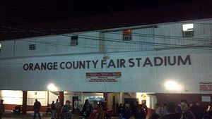 Orange County Fair Speedway - Image: 2 OCFS building