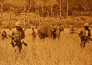 1st Battalion, 3rd Marines - U.S. Marines from 1/3 near Khe Sahn in 1966.