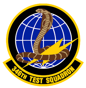 346th Test Squadron - Image: 346th Test Squadron
