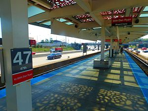 47th station (CTA Red Line) - Image: 47th Street Station