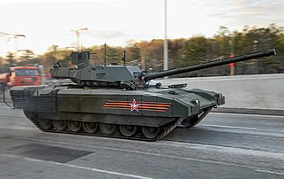 Armata Universal Combat Platform Tracked Heavy Armored Vehicle