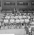51ste Tour de France 1964, presentie televizierploeg in Palais du Sport in Renn…, Bestanddeelnr 916-5746.jpg