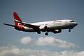 67bq - Qantas Boeing 737-476; VH-TJS@SYD;15.08.1999 (5362885651).jpg