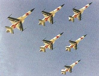 Golden Crown - 6 F-5Es of the Golden Crown display team