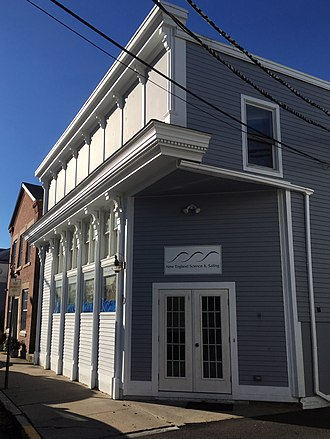 Mystic Pizza - 70 Water Street in Stonington. Filming location for the Mystic Pizza restaurant