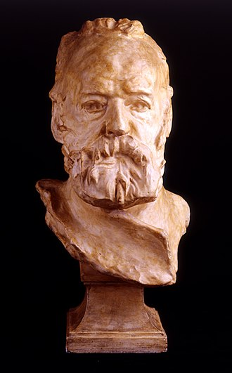 Bust of Victor Hugo - Image: 71 Busto de Victor Hugo