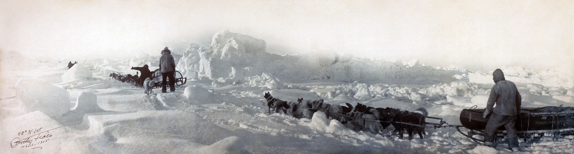 Peter Tessem og Ziegler - Fiala ekspedisjonen 1903-1905: 2 år strandet på Frans Josefs land