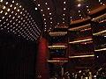 9. Bucuresti, Romania. Teatrul National Bucuresti. (Sala de spectacole inainte de inceperea spectacolului).jpg
