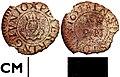 980913. Post medieval token , farthing of Peter King Junior in Shaftesbury (FindID 218280).jpg