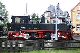 Thumer Netz network of narrow-gauge railways around Thum in the Ore mountains