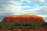 A188, Northern Territory, Australia, Uluru-Kata Tjuta National Park, Ayers Rock at sunset, 2007.JPG