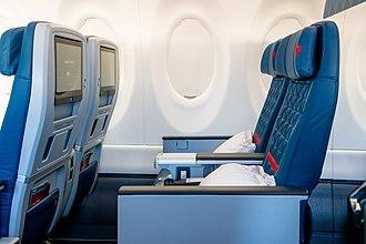 B/E Aerospace - B/E Aerospace MIQ business class seats
