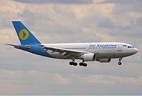 A310 Air Kazakstan UN-A3102 FRA August 2001.jpg