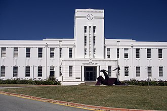Australian National University - ANU School of Art located at the former Canberra High School building