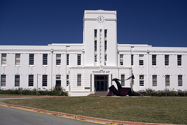 ANU School of Art By Bidgee (Own work) [CC BY-SA 2.5 au (https://creativecommons.org/licenses/by-sa/2.5/au/deed.en)], via Wikimedia Commons