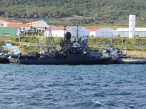 Intrépida-class fast attack craft - Image: ARA Intrepida (P 85)