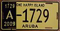 ARUBA 2009 -LICENSE PLATE - Flickr - woody1778a.jpg