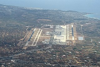 Athens International Airport international airport serving Athens, Greece