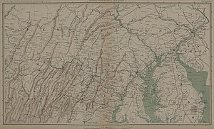 Maryland Campaign - Northern Virginia, Maryland and Pennsylvania (1861-1865).