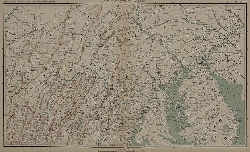 ATLAS OR VIRGINIA-MARYLAND-PENNSYLVANIA