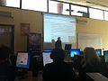 AUThOAWeek2016 workshop by Wikimedia User Group.jpg