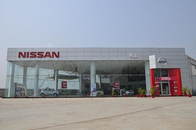 New Nissan Dealership Near Buford Car Display