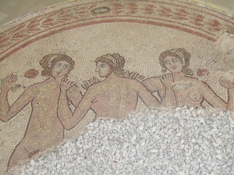 File:A Roman mosaic in Egnazia.jpg