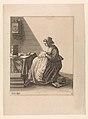 A Young Woman Ruffling, Plate 2 from Five Feminine Occupations MET DP-12294-001.jpg