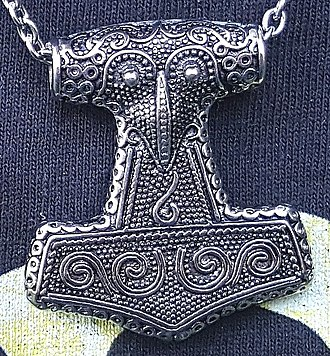 Replica - Replica of the Thor's hammer from Scania. The original find was created around 1000 AD.
