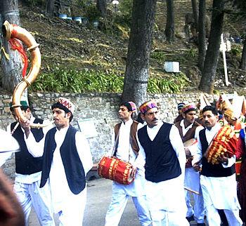 English: A folk procession in Shimla Category:...