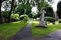 A footpath through the churchyard, Sturry, Kent - geograph.org.uk - 480721.jpg