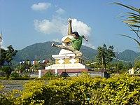 A man practising kung fu (Itanagar, Arunachal Pradesh).jpg