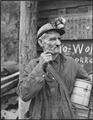 A miner. P V & K Coal Company, Clover Mine, Lejunior, Harlan County, Kentucky. - NARA - 541294.tif