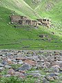 Abandoned Village on Hillside - Outside Okrokana - Near Kazbegi - Greater Caucasus - Georgia (18602076552) (2).jpg