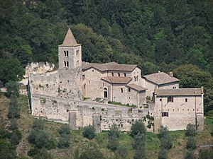 Narni - The Abbey of San Cassiano.