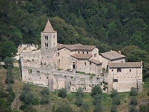 Narni - The Abbey of San Cassiano.