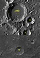 Abbe sattelite craters map.jpg