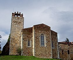 Apse of the pieve of San Giovanni Battista.
