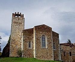 Abside Pieve di San Giovanni Battista Campagnatico.jpg