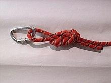 Klettergurt Aus Seil Knoten : Achterknoten schlaufe u2013 wikipedia