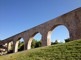 Chihuahua (state) - An 18th century colonial aqueduct built in Chihuahua City