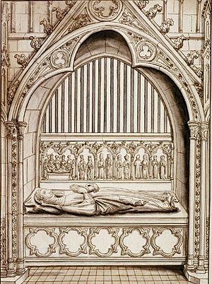 Adele of Meaux - Effigy of Adele of Meaux on her tomb