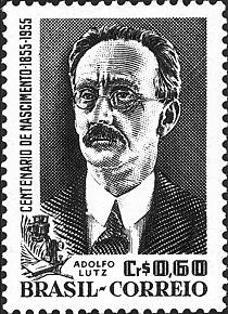 Adolfo Lutz 1955 Brazil stamp.jpg