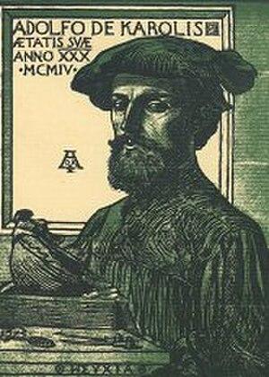 Adolfo de Carolis - Self-portrait (1904)