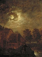 Farm by Moonlight