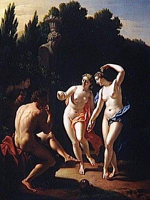 Adriaen van der Werff - Image: Adriaen and Pieter van der Werff Nymphes dansant