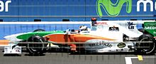 Photo de la Force Iindia VJM03 de Sutil à Valence