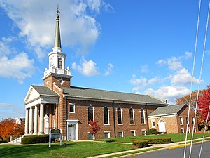Springettsbury Township, York County, Pennsylvania - Advent Lutheran Church in East York, Pennsylvania