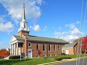 Springettsbury Township, York County, Pennsylvania - Advent Lutheran Church in East York, Pennsylvania