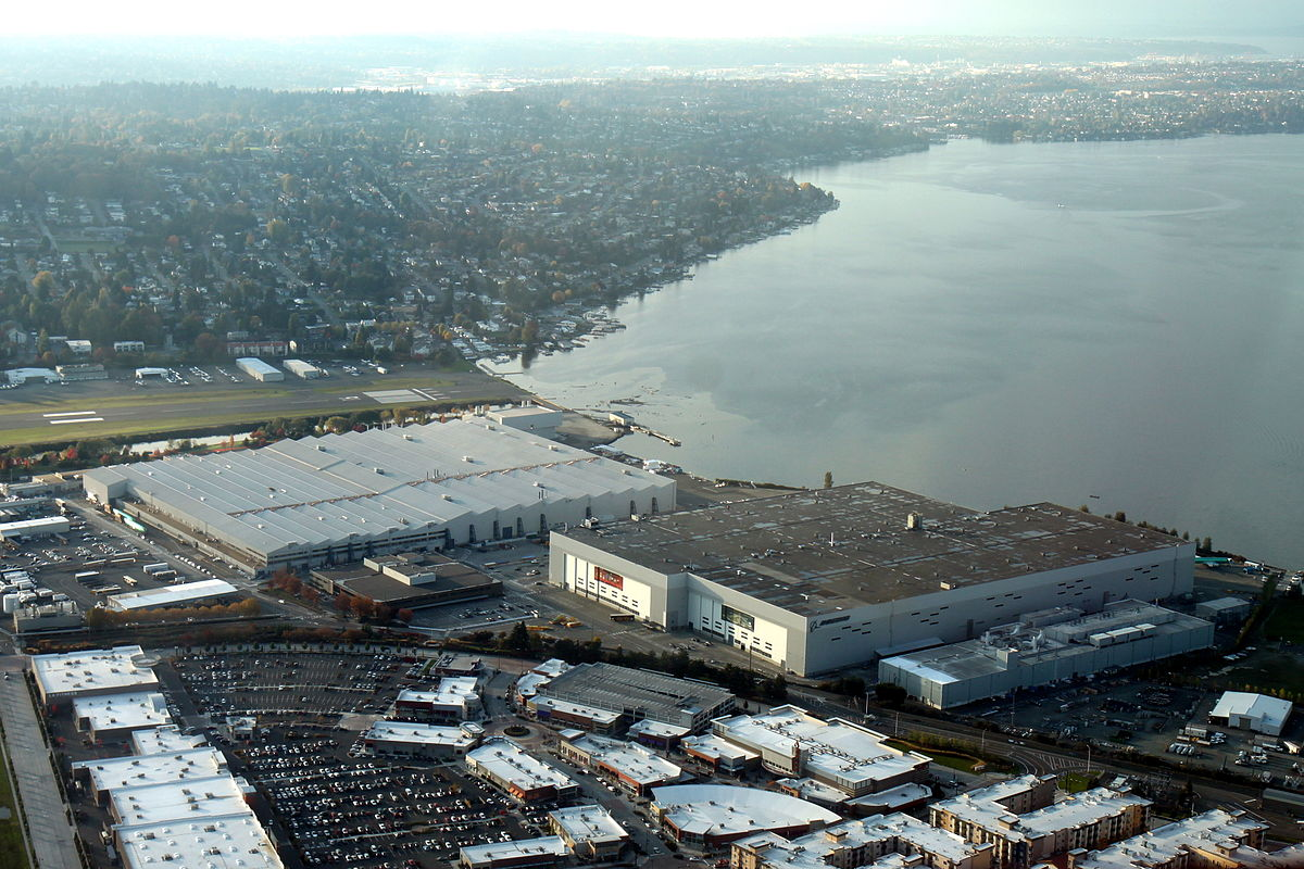 Boeing Renton Factory - Wikipedia